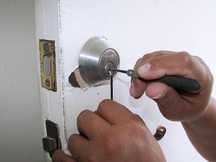 En dårlig lås er enkel å dirke opp