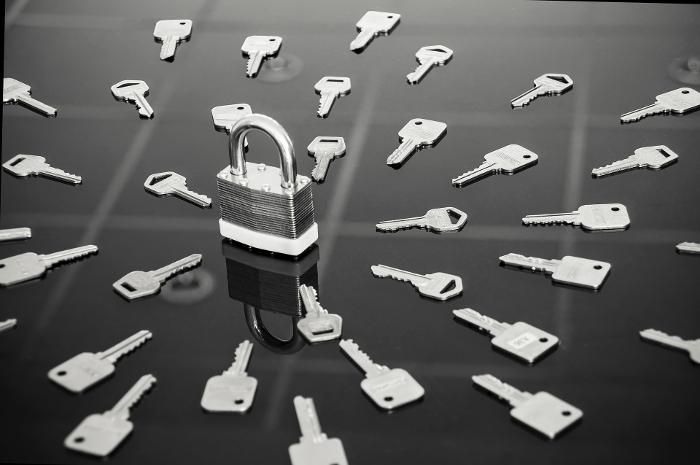 Unngå massevis med nøkler med nøkkelskap