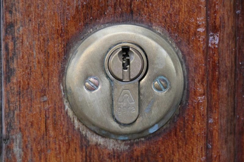 gammel lås, ny bolig