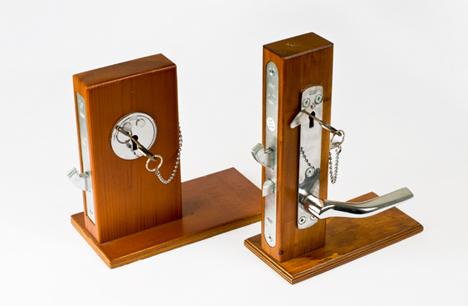 modeller av låssystem