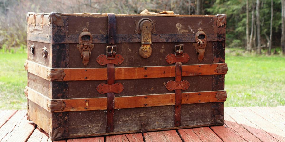 låst kiste